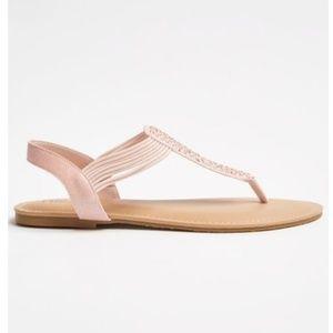 T strap sandals *Brand New*